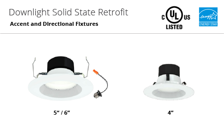 oulighting downlight led soled state retrofit global